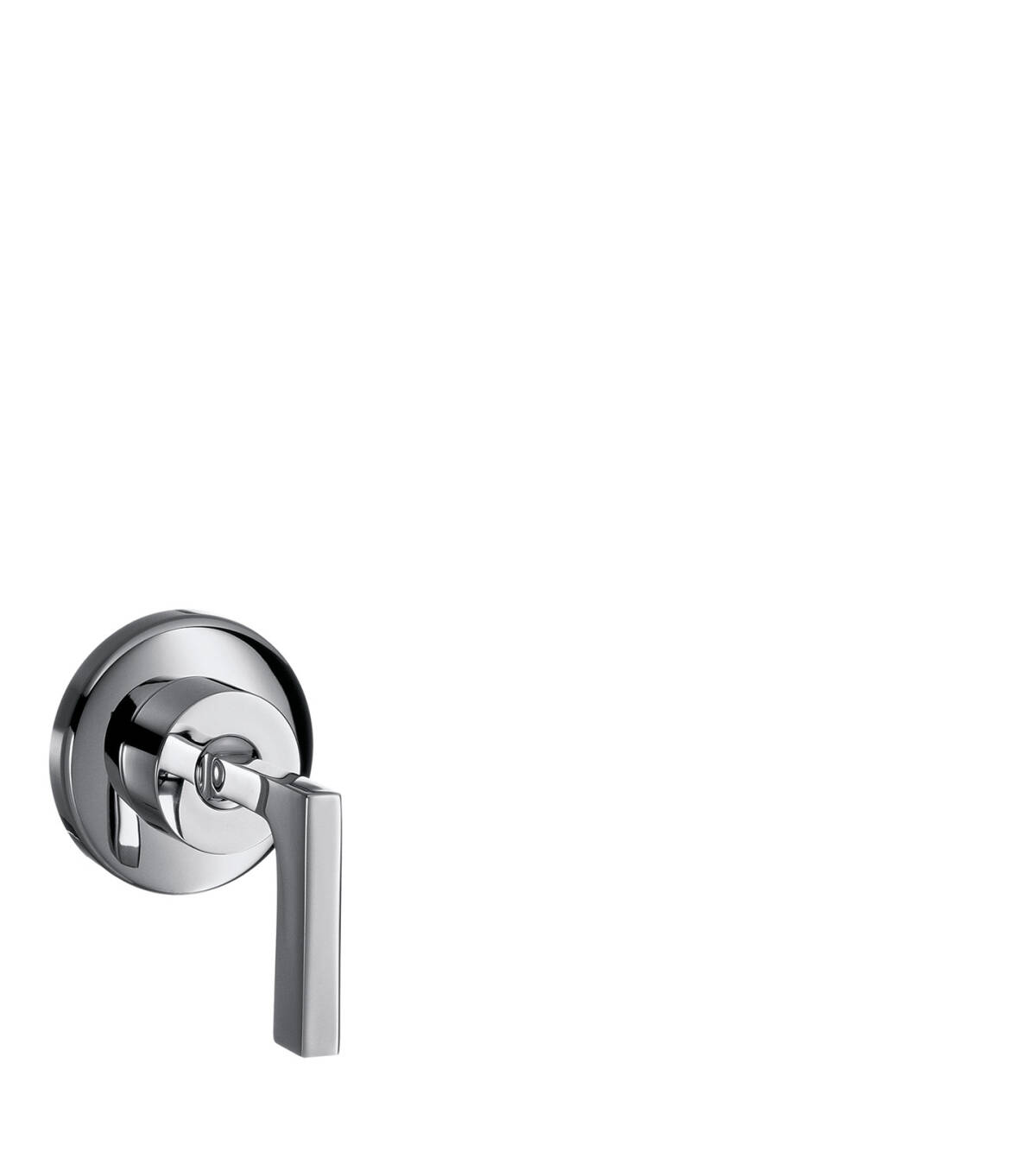 Shut-off valve for concealed installation with lever handle, Chrome, 39960000