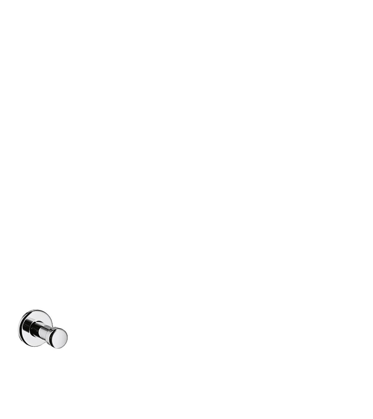 Single hook, Chrome, 41537000