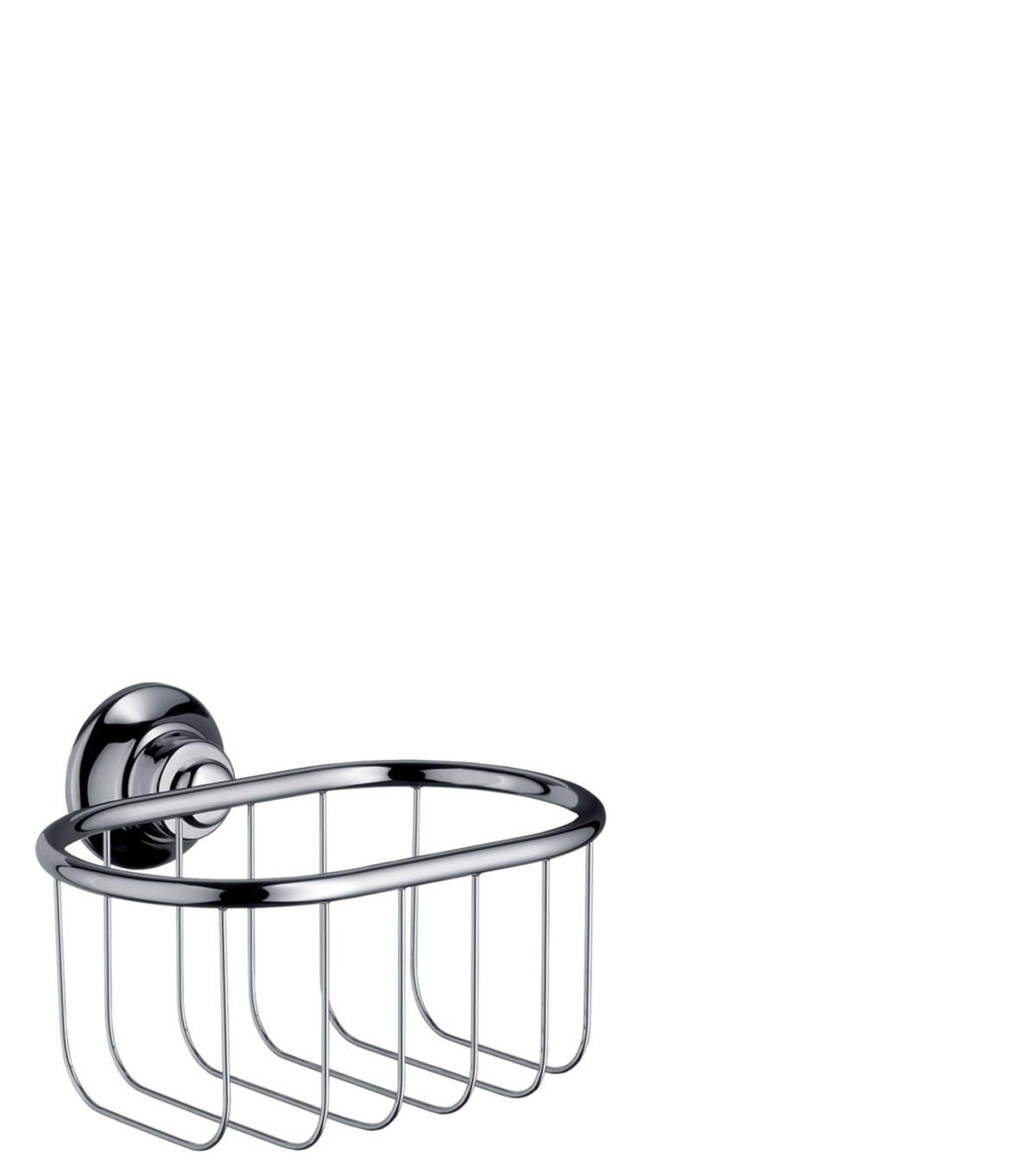 Corner basket 160/101, Chrome, 42065000