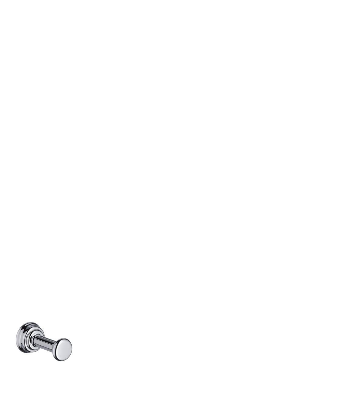 Single hook, Chrome, 42137000