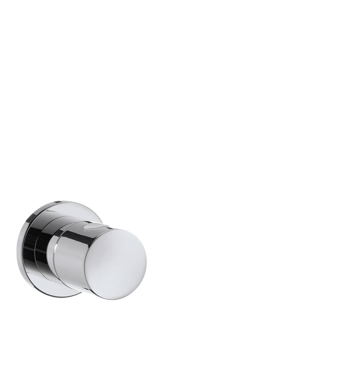 Shut-off valve for concealed installation, Chrome, 38976000