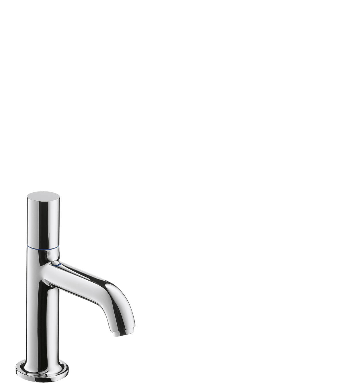 axor uno washbasin mixers brushed black chrome 38130340. Black Bedroom Furniture Sets. Home Design Ideas