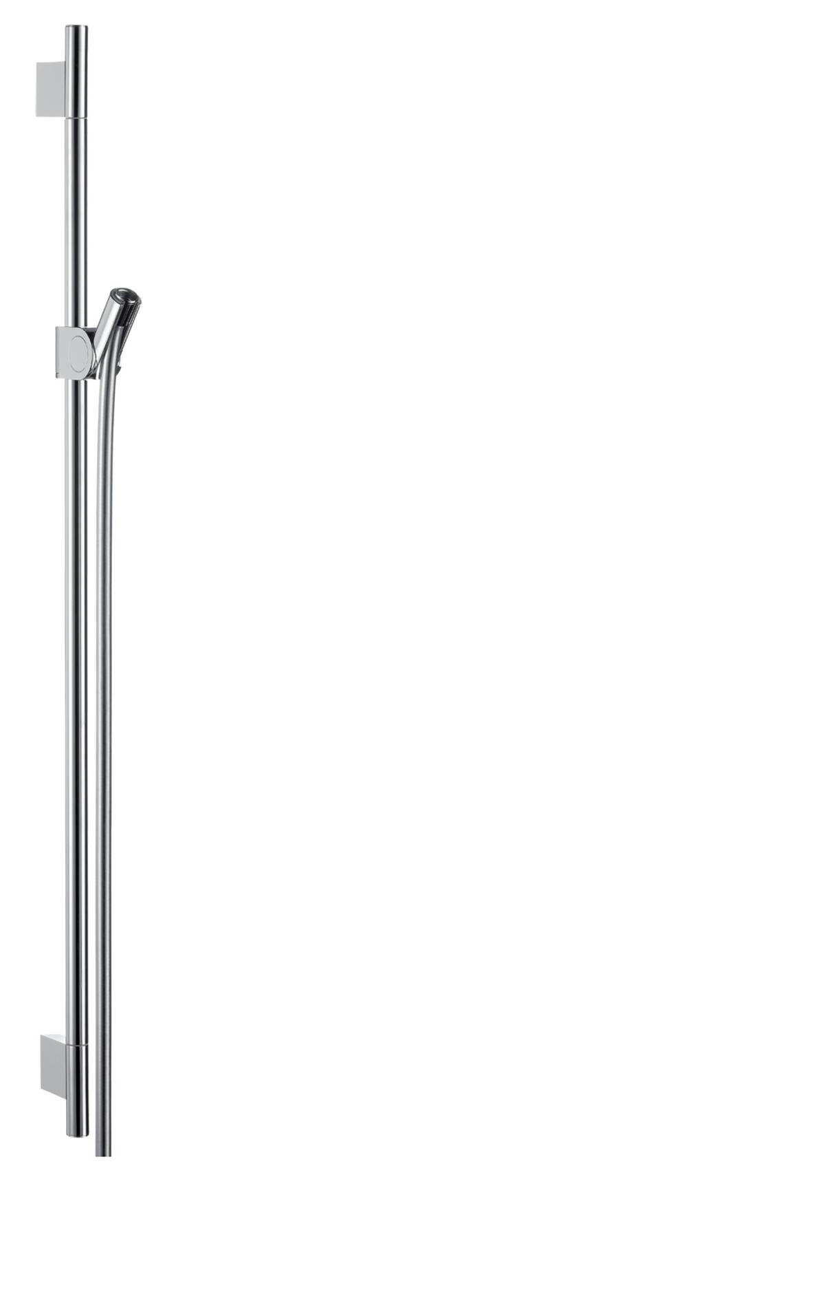Shower bar 0.90 m, Chrome, 27989000