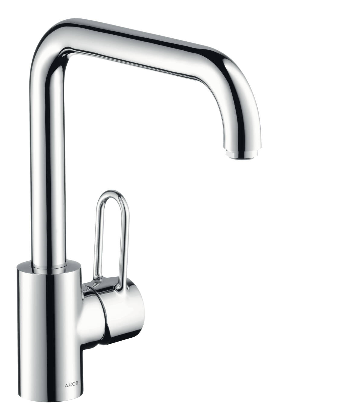 Single lever kitchen mixer 230 with swivel spout, Polished Brass, 14850930
