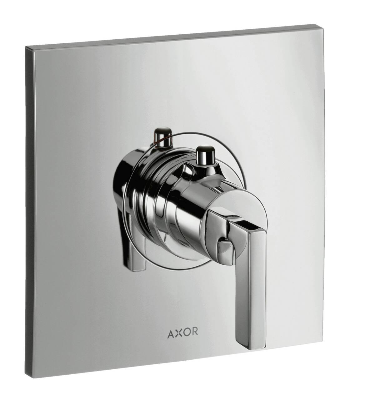 Thermostat 59 l/min Highflow Unterputz mit Hebelgriff, Chrom, 39711000
