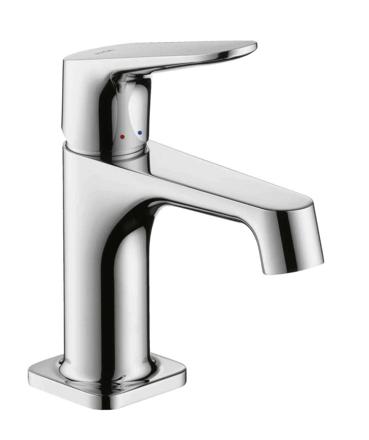 Single lever basin mixer 70 for hand washbasins with pop-up waste set, Brushed Black Chrome, 34016340