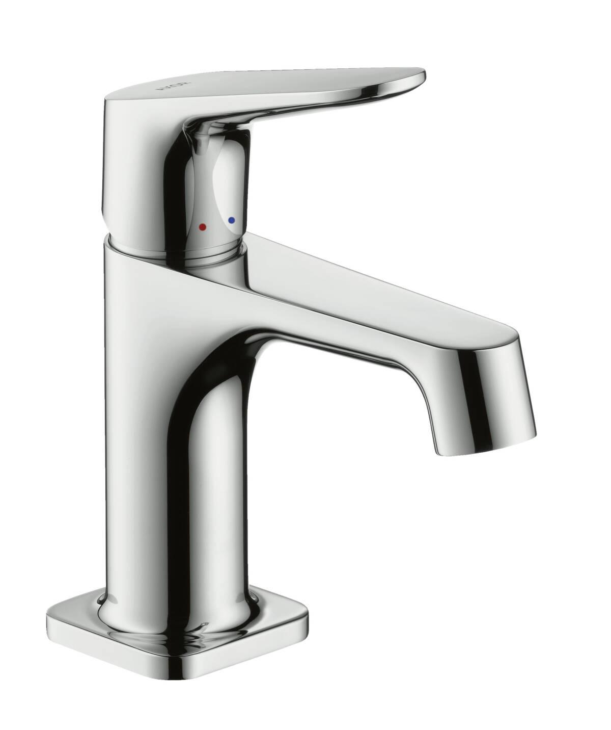 Einhebel-Waschtischmischer 70 mit Zugstangen-Ablaufgarnitur für Handwaschbecken, Chrom, 34016000