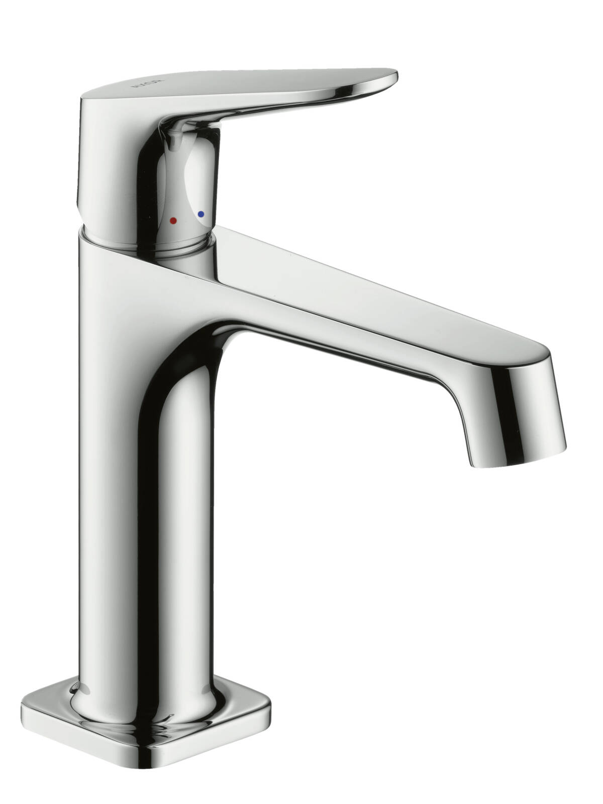 Single lever basin mixer 100 with pop-up waste set, Chrome, 34010000