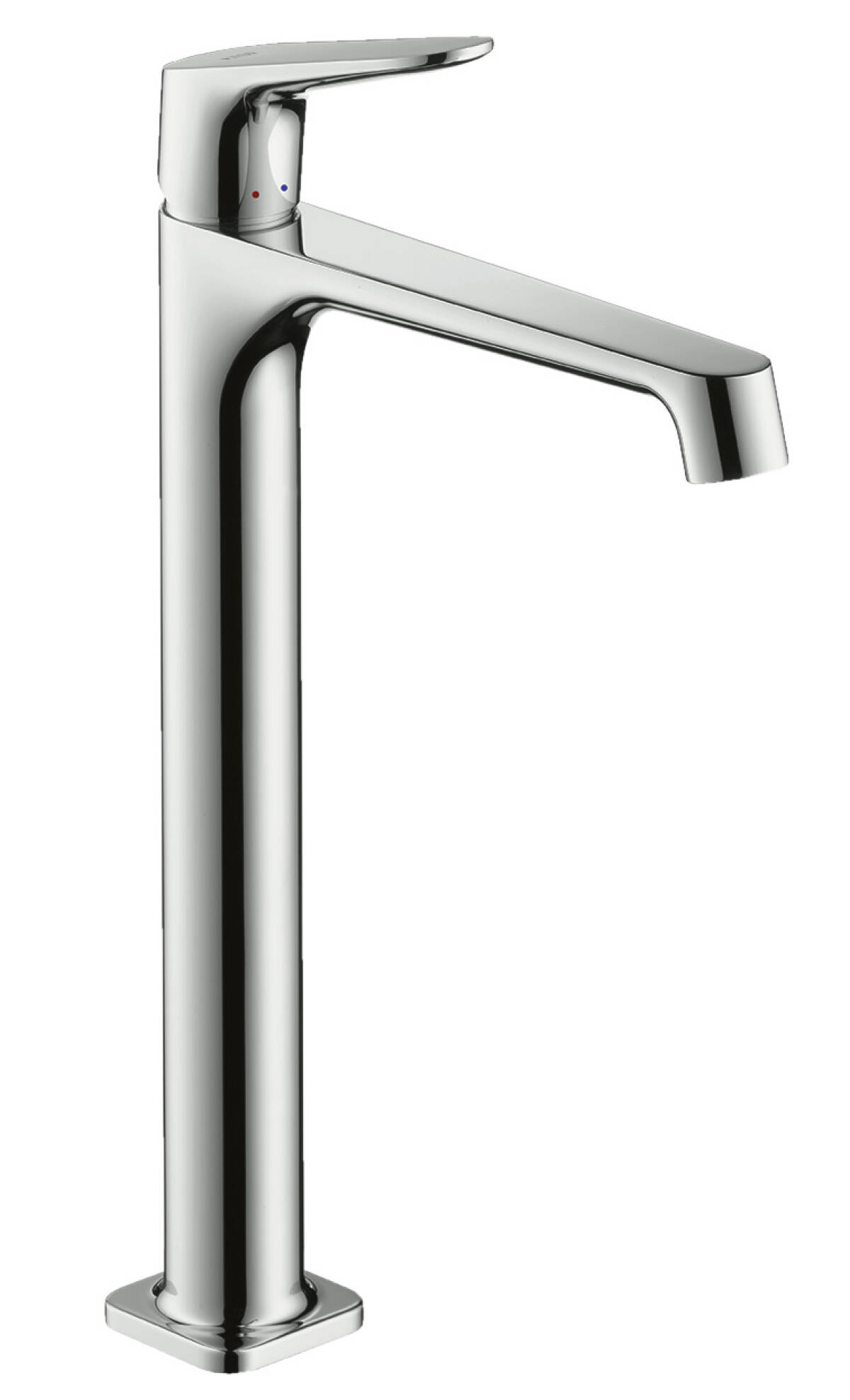 Einhebel-Waschtischmischer 250 ohne Zugstange für Waschschüsseln, Chrom, 34127000