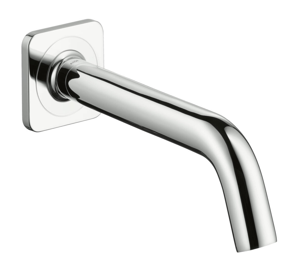 Bath spout, Stainless Steel Optic, 34410800