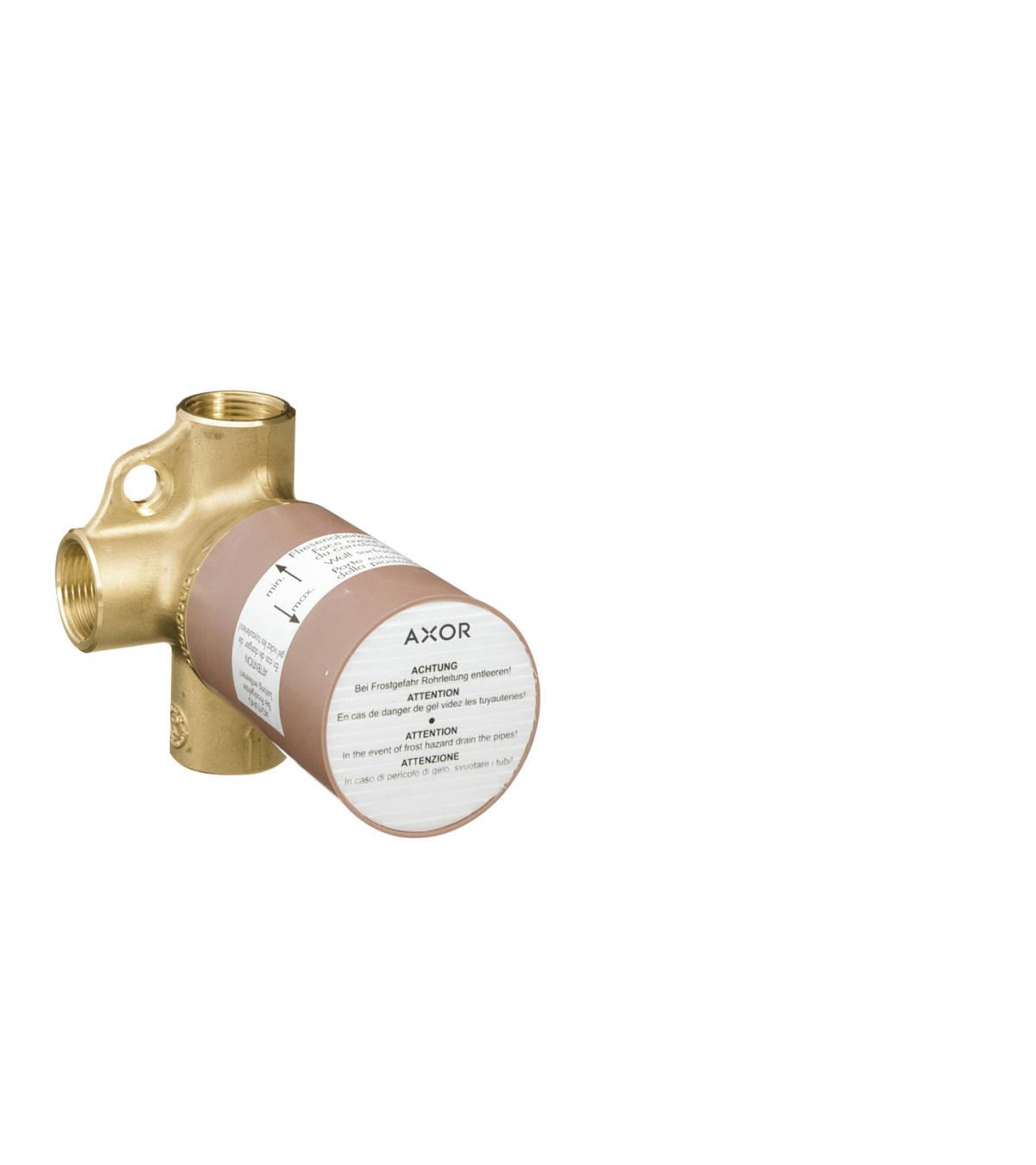 Basic set for shut-off/ diverter valve Trio for concealed installation, n.a., 16982180