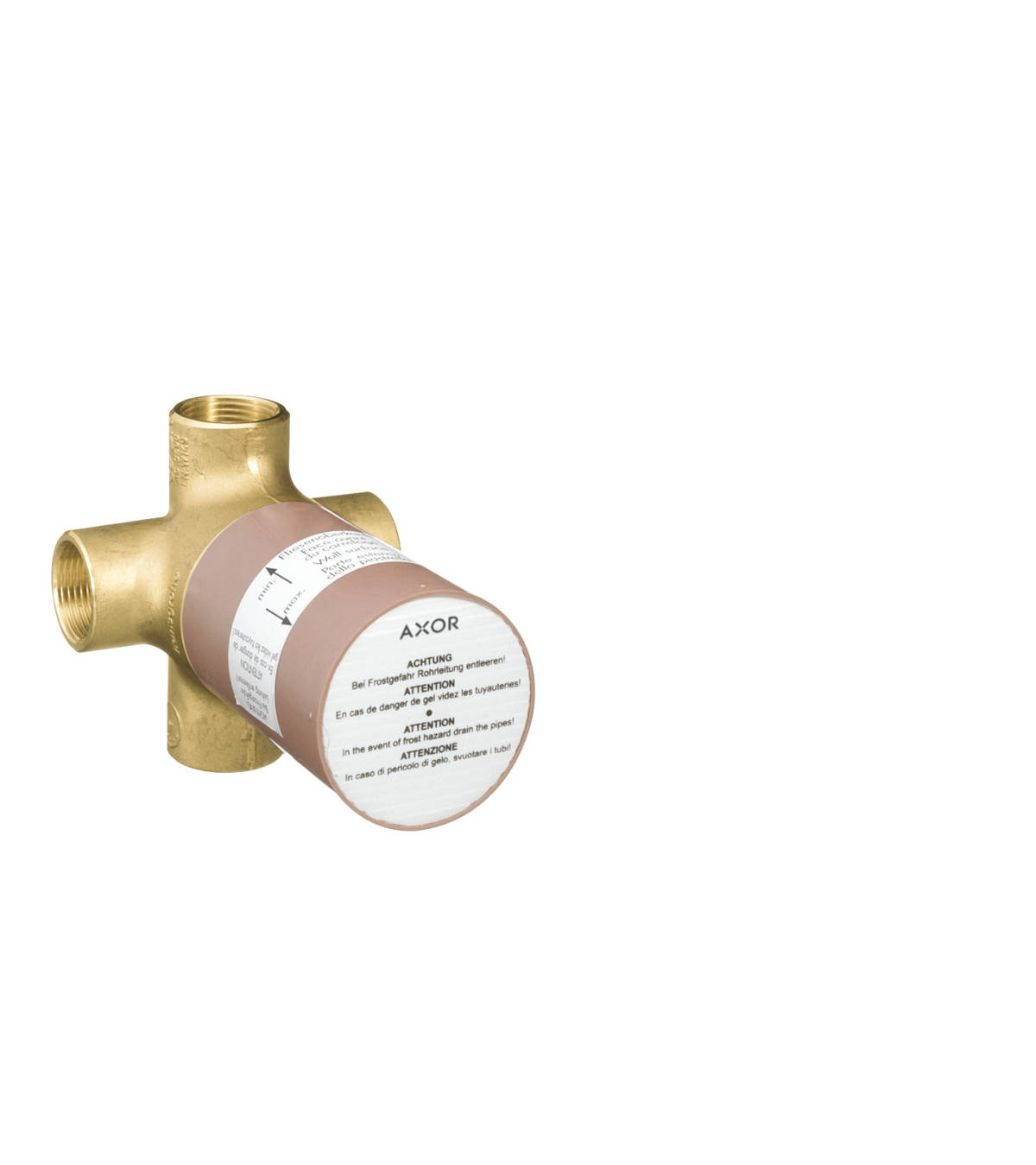 Basic set for Quattro four-way diverter valve for concealed installation, n.a., 16930180