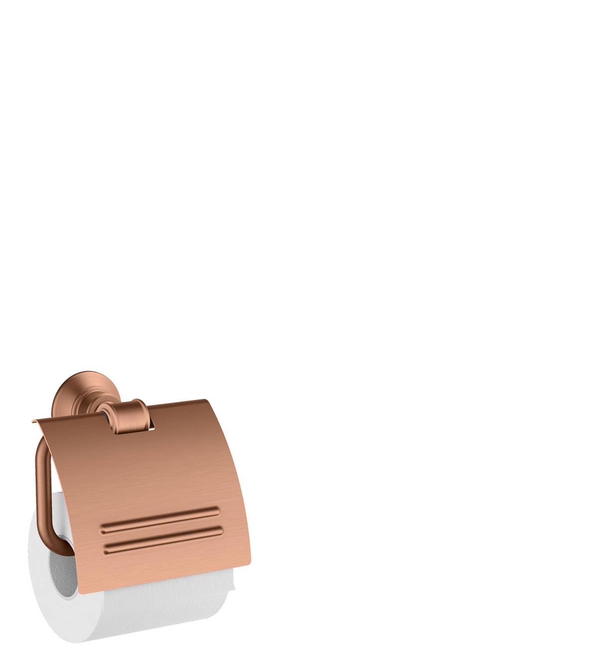 Roll holder, Brushed Red Gold, 42036310