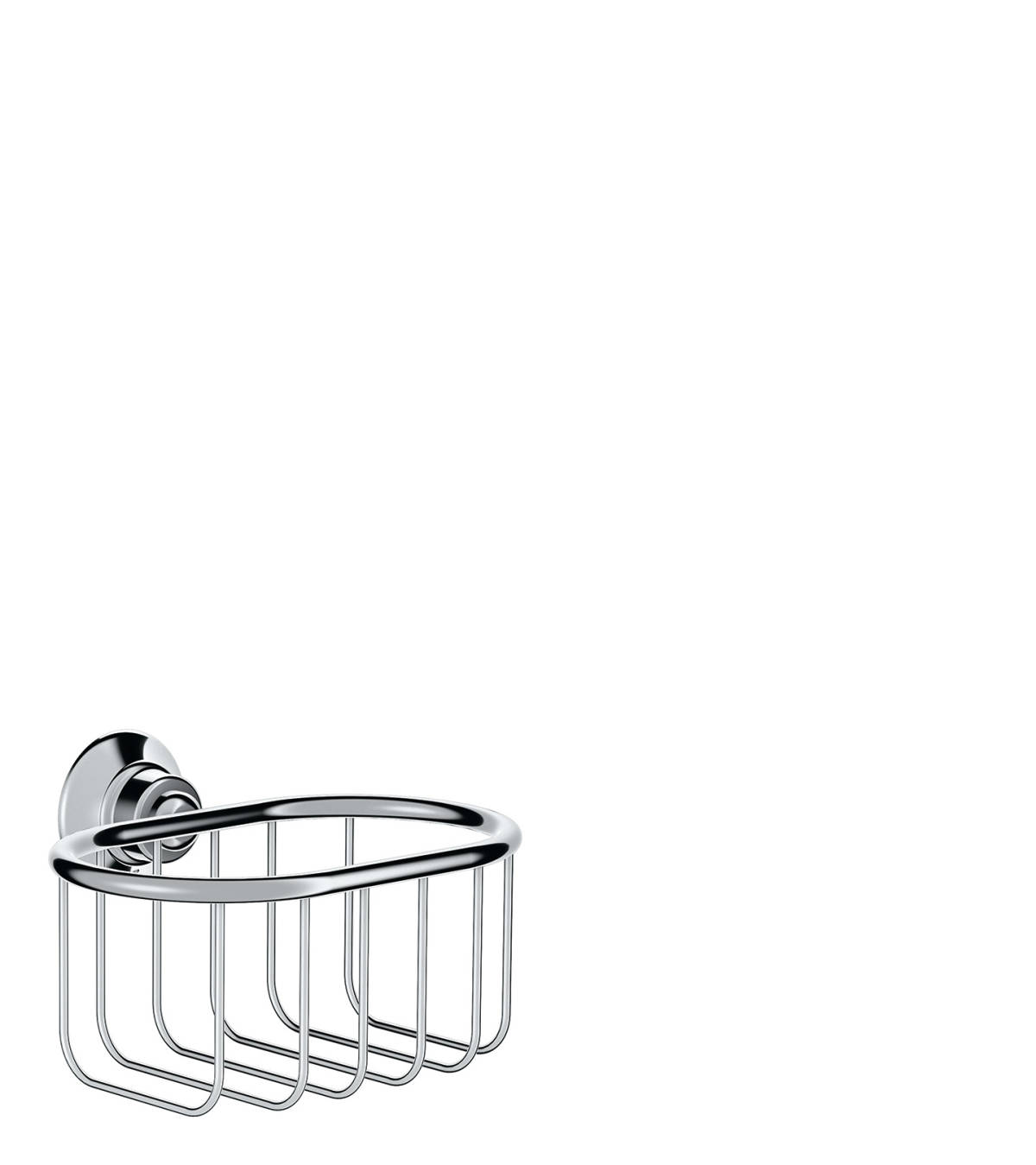 Corner basket 160/101, Polished Chrome, 42065020