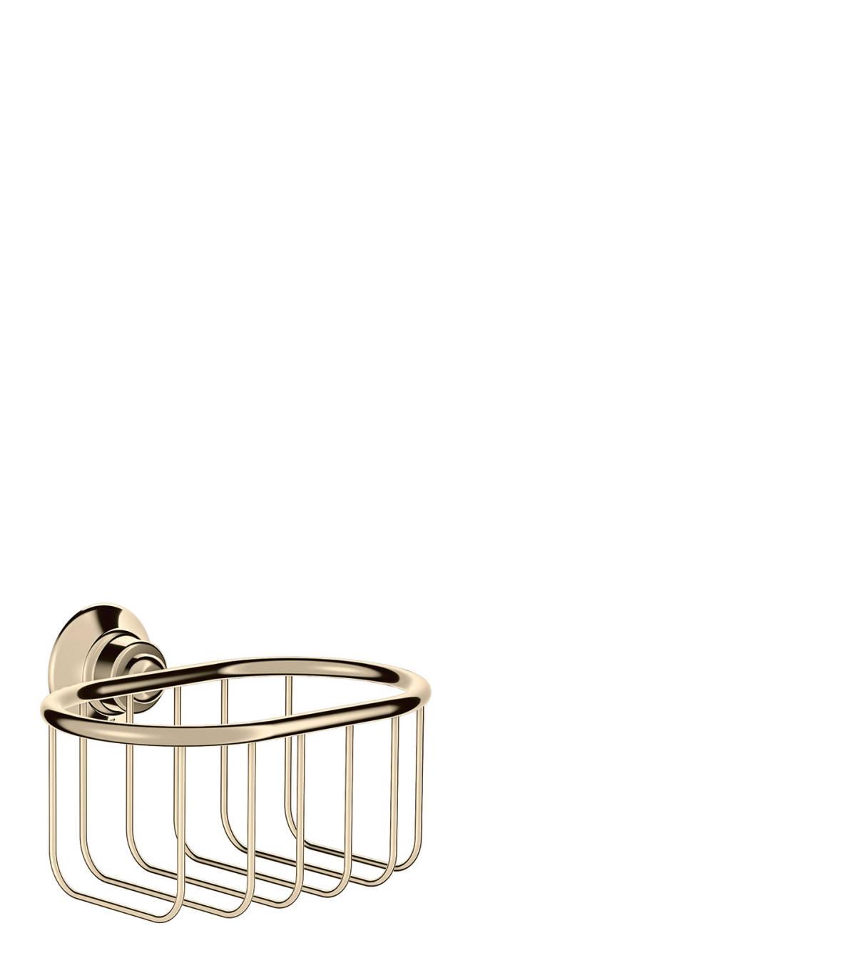 Corner basket 160/101, Polished Nickel, 42065830