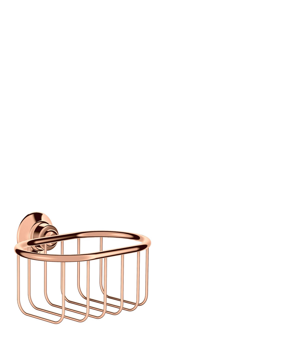 Corner basket 160/101, Polished Red Gold, 42065300