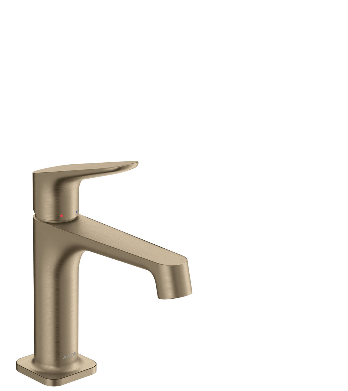 Single lever basin mixer 100 with waste set, Brushed Nickel, 34017820