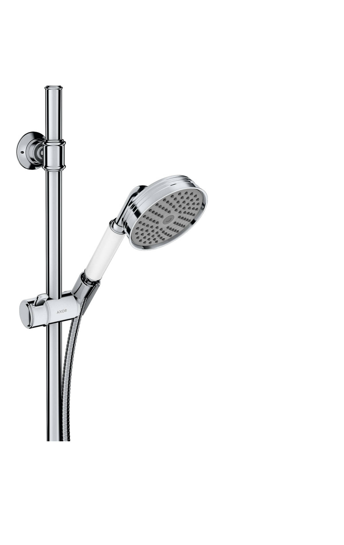 shower set 0,90 m with hand shower 100 1jet Classic, Polished Chrome, 27982020