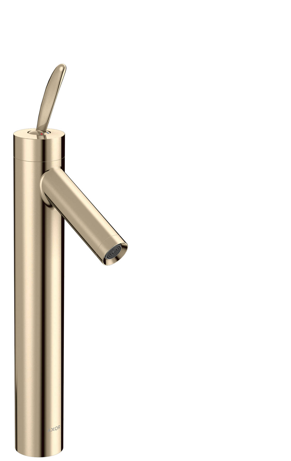 Single lever basin mixer 220 for washbowls with pop-up waste set, Polished Nickel, 10020830