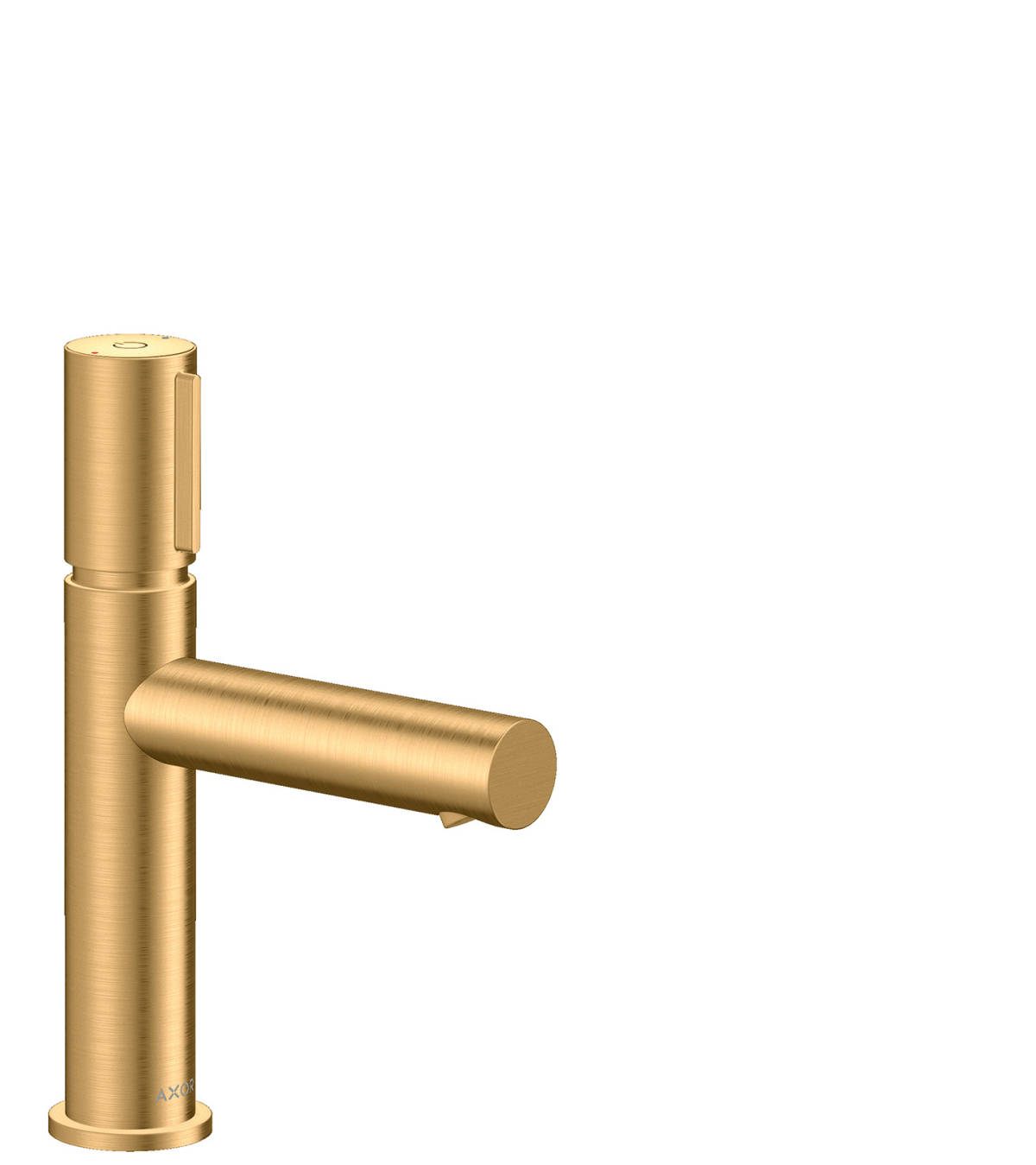 Basin mixer Select 110 with waste set, Brushed Brass, 45012950
