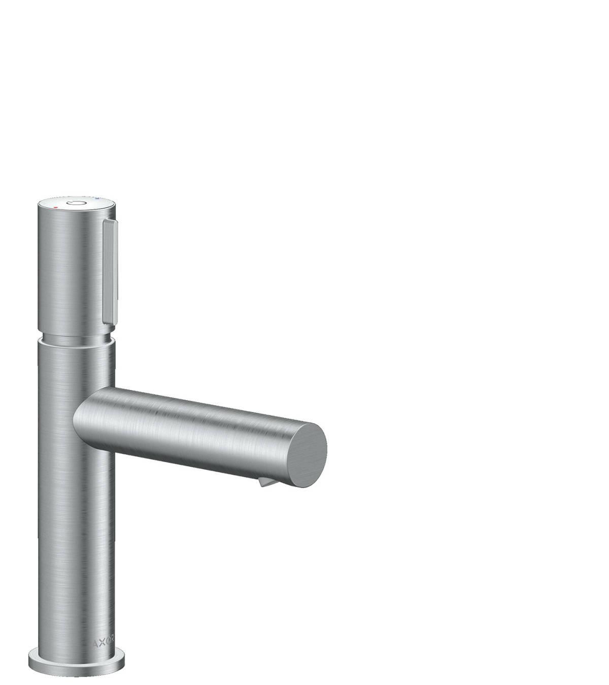 Basin mixer Select 110 with waste set, Brushed Chrome, 45012260