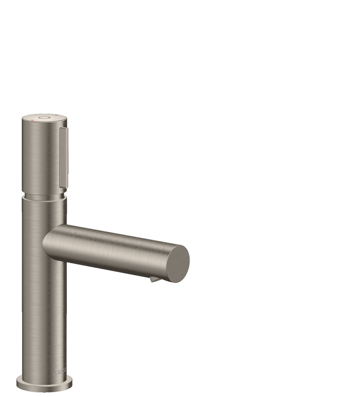 Basin mixer Select 110 with waste set, Stainless Steel Optic, 45012800