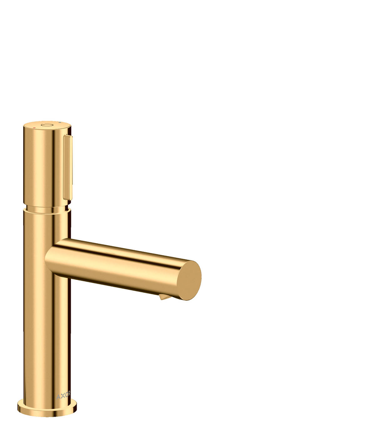 Basin mixer Select 110 with waste set, Polished Brass, 45012930
