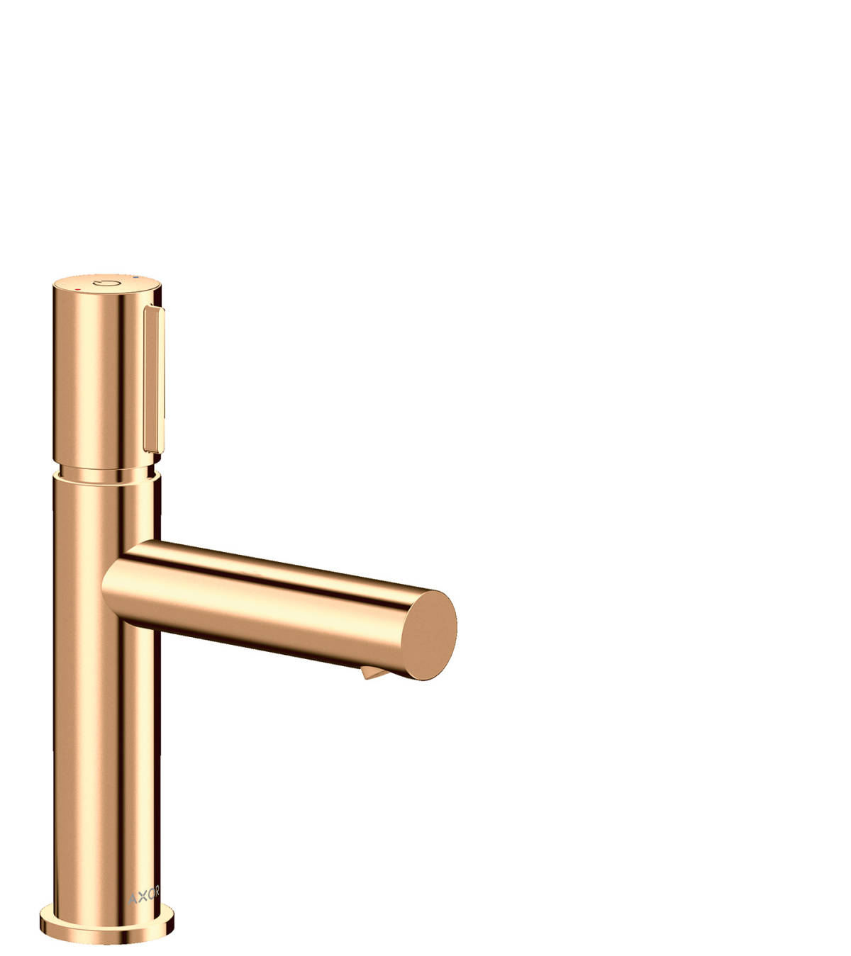 Basin mixer Select 110 with waste set, Polished Bronze, 45012130