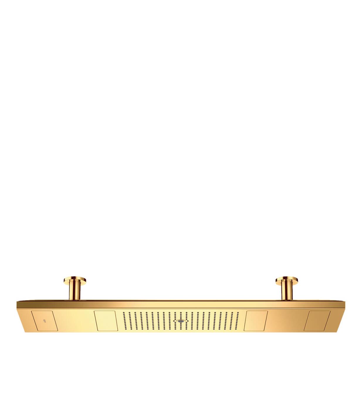 淋浴天堂 1200/300 4速淋浴天堂 带灯 3500K, 奢华金, 10629990