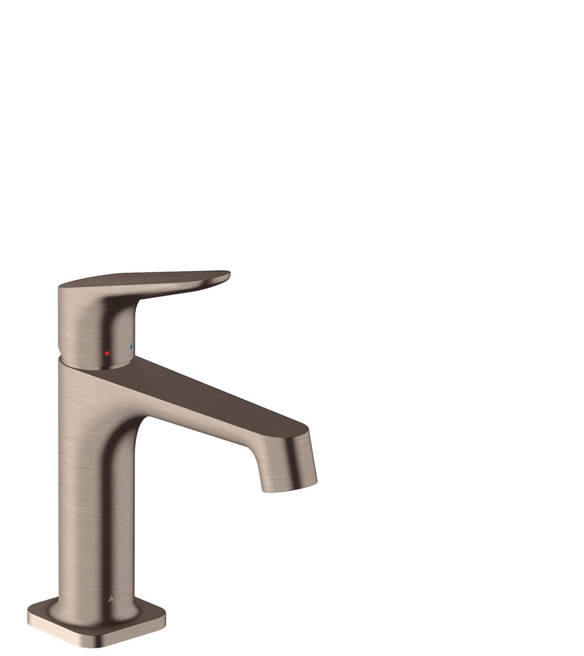Single lever basin mixer 100 with pop-up waste set, Brushed Nickel, 34010820