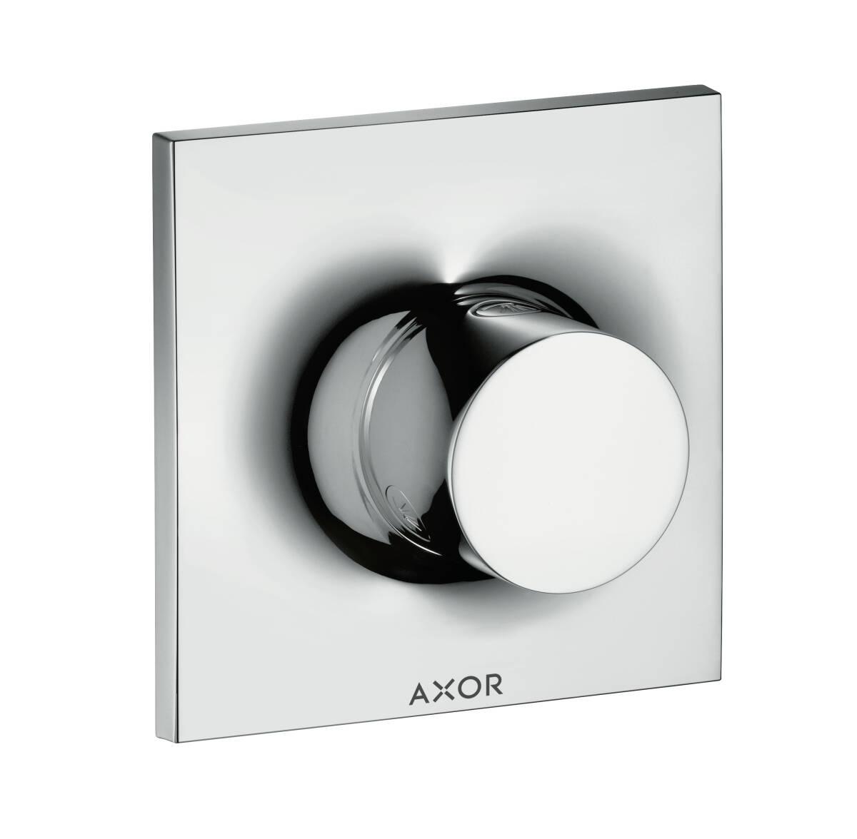 Shut-off/ diverter valve Trio/ Quattro for concealed installation, Chrome, 18730000