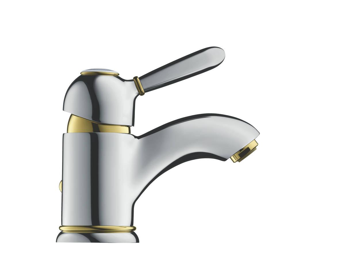 axor carlton waschtischmischer chrom 17010000. Black Bedroom Furniture Sets. Home Design Ideas