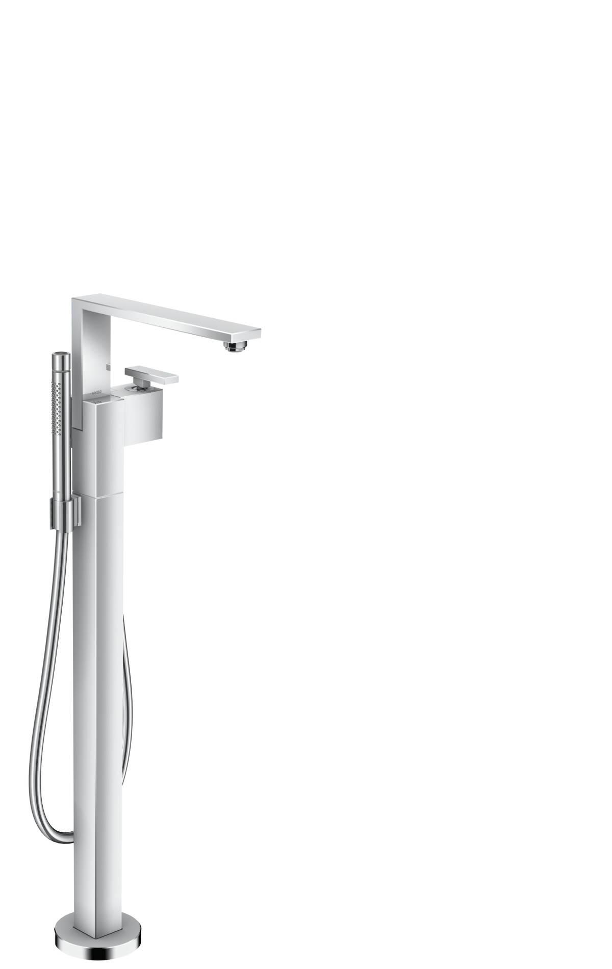 Single lever bath mixer floor-standing, Chrome, 46440000