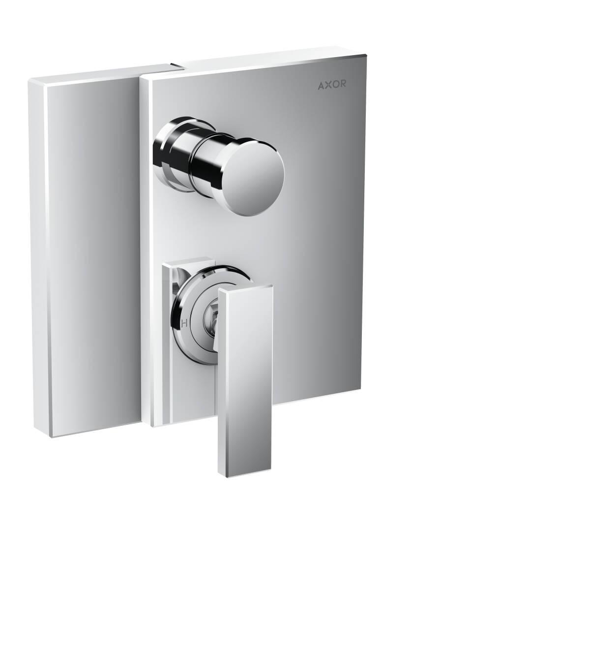 Mezclador monomando de bañera empotrado, cromo, 46450000