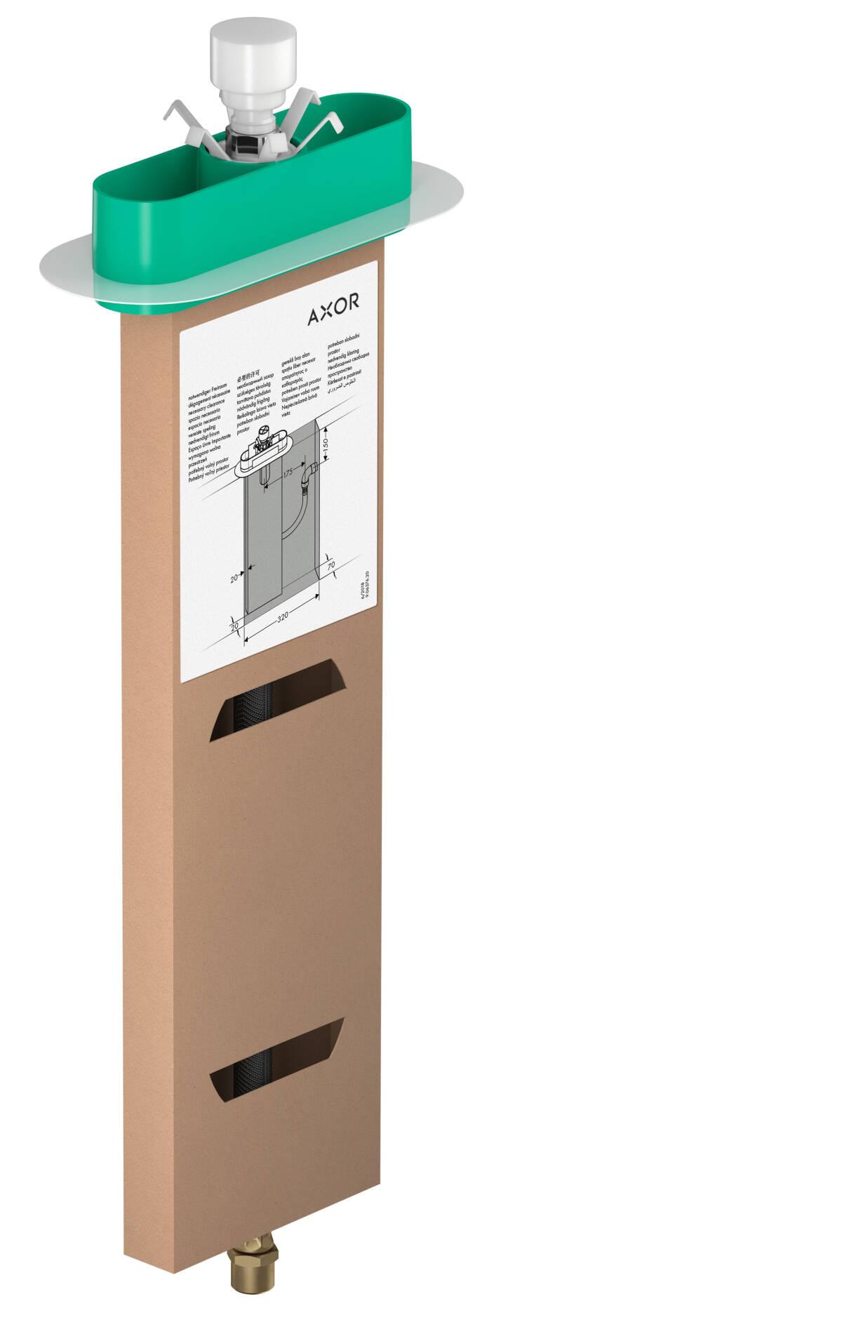 Aide Pour Sortir De La Baignoire axor corps d'encastrement mitigeurs baignoire/douche: sbox