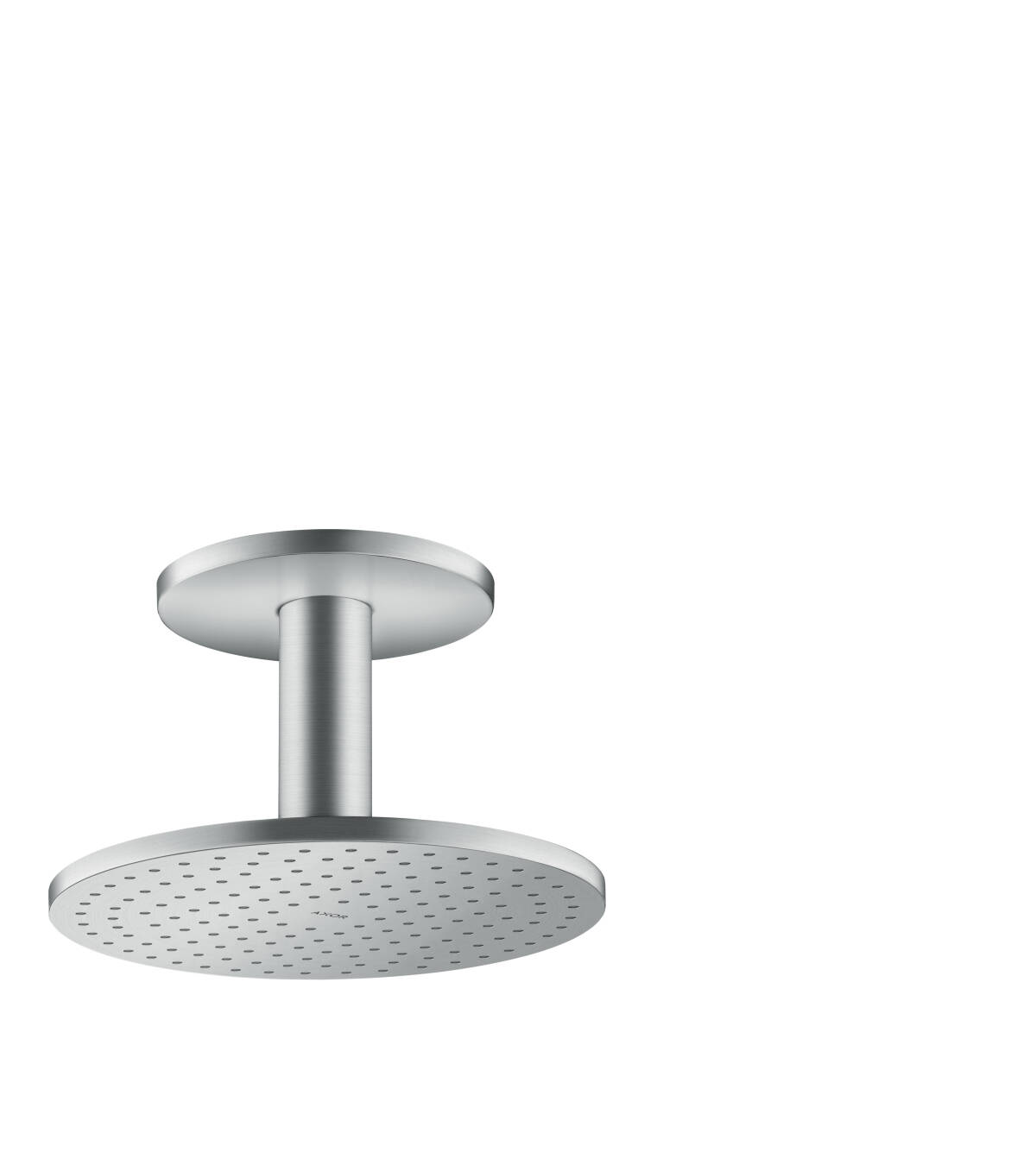 Overhead shower 250 1jet with ceiling connection, Brushed Chrome, 35286260