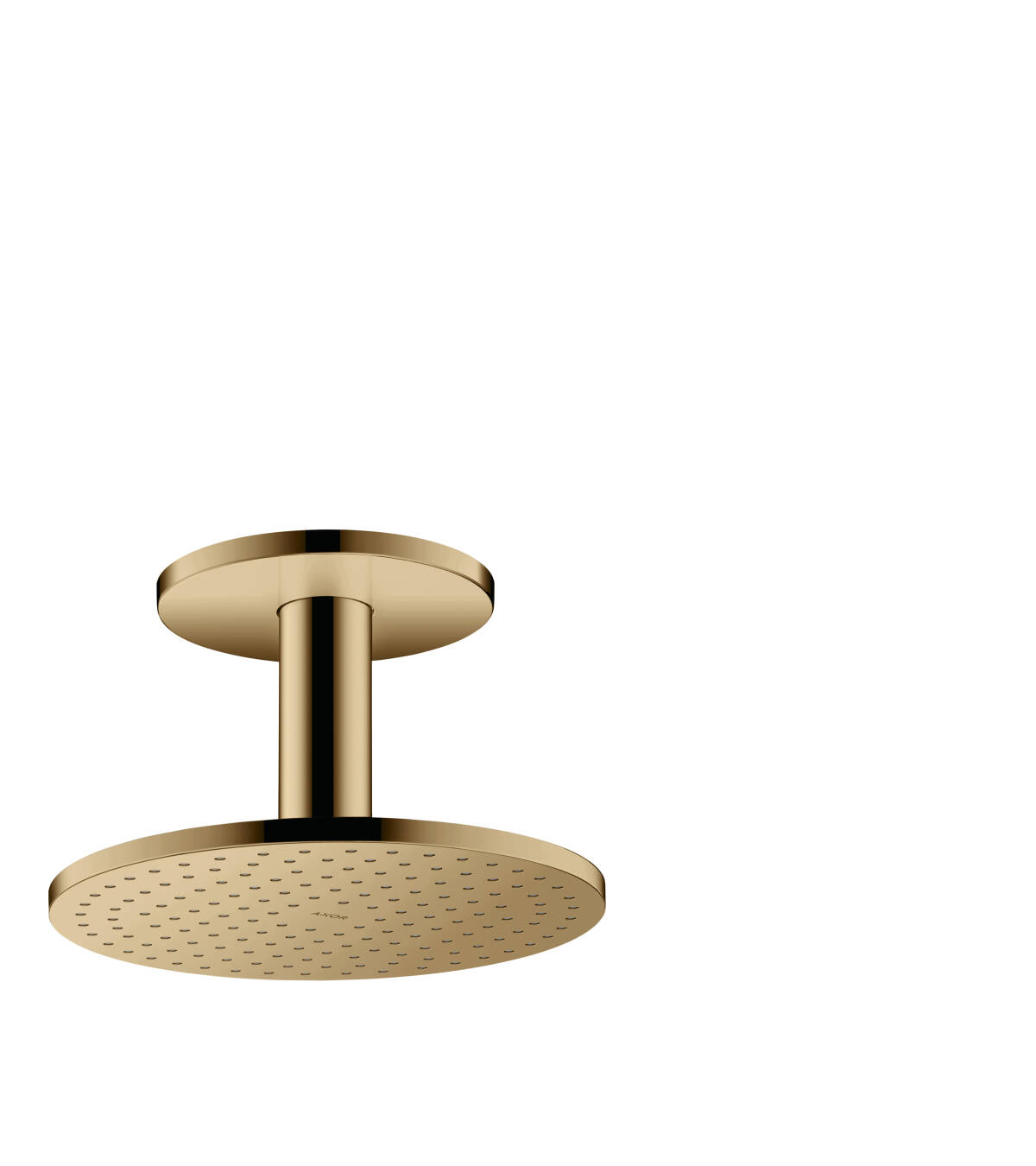 Overhead shower 250 1jet with ceiling connection, Polished Bronze, 35286130