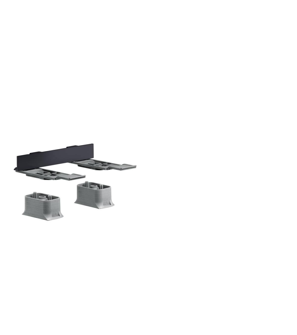 Adapter set, Satin Black, 42870350