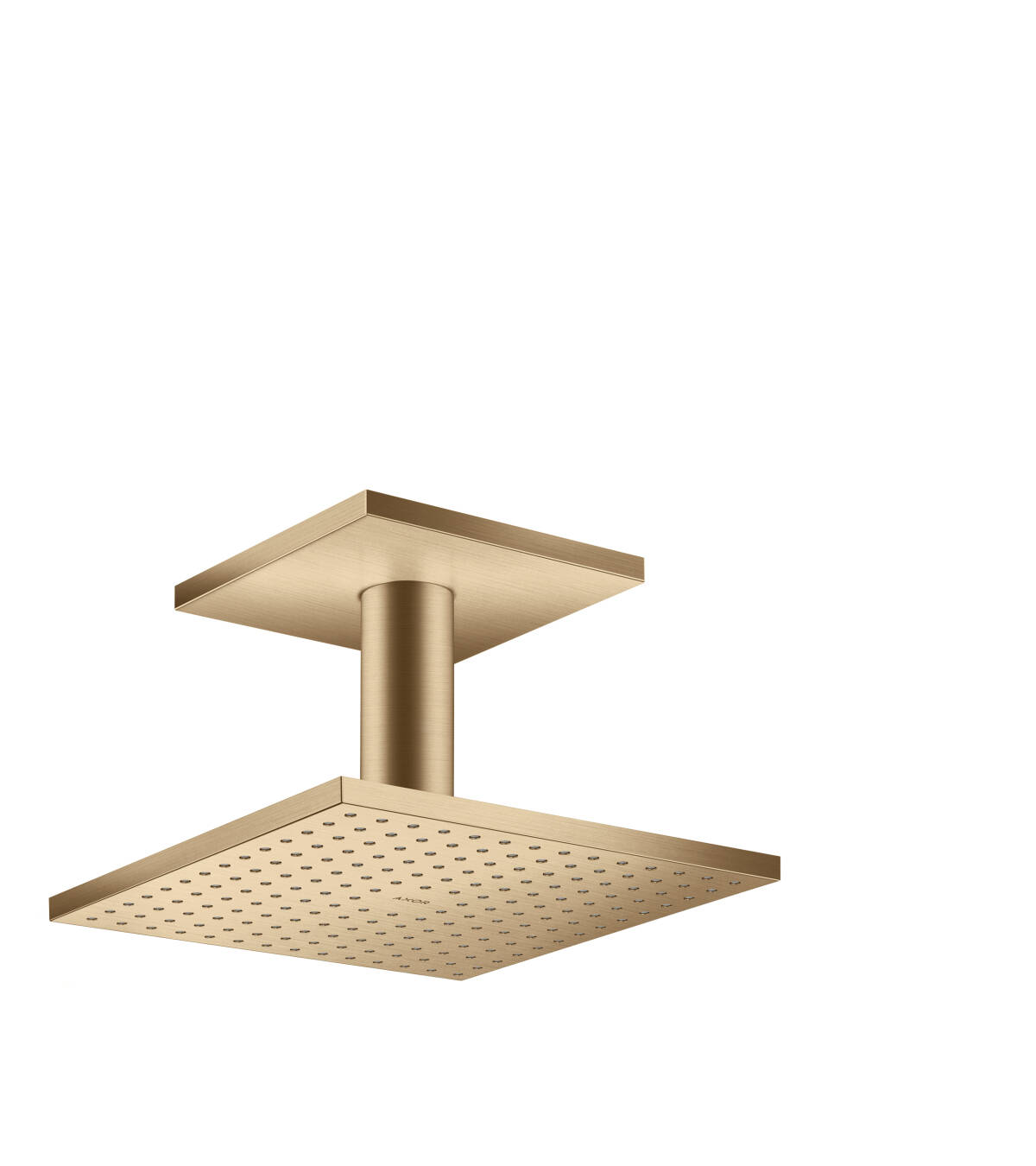 Overhead shower 250/250 1jet with ceiling connection, Brushed Bronze, 35308140
