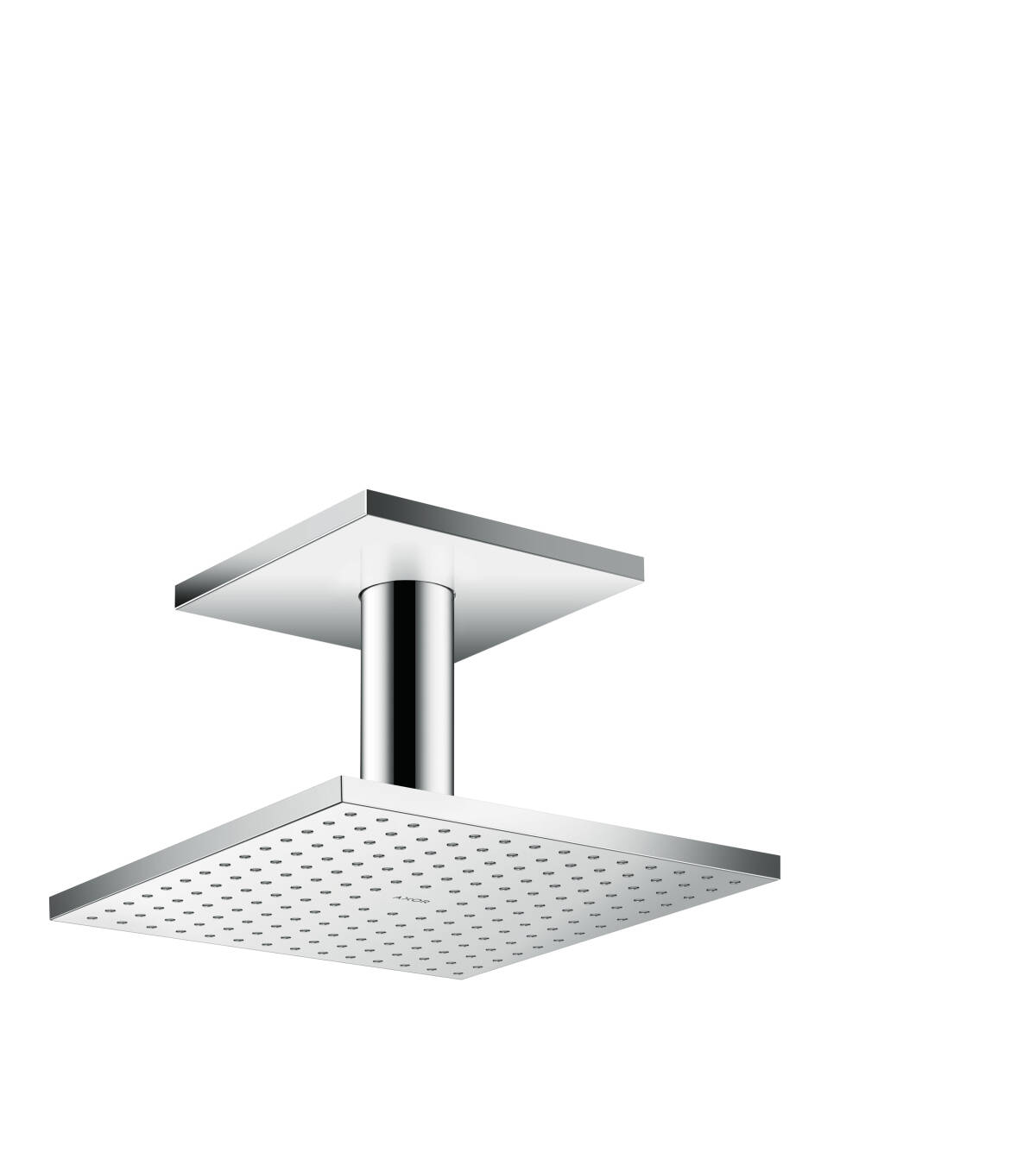 Overhead shower 250/250 1jet with ceiling connection, Polished Chrome, 35308020