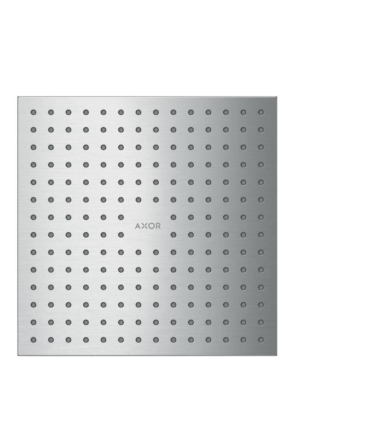 Overhead shower 250/250 1jet ceiling, Brushed Chrome, 35309260