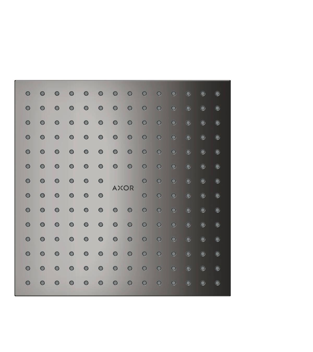 Overhead shower 250/250 1jet ceiling, Polished Black Chrome, 35309330