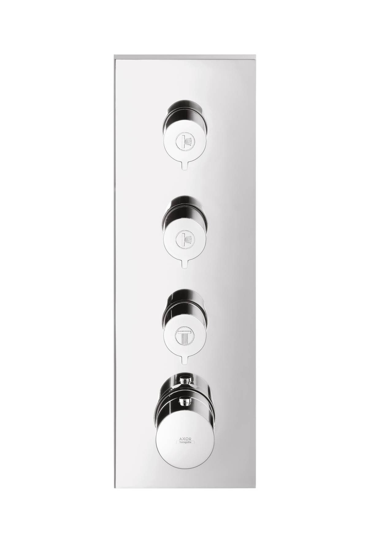 AXOR ShowerCollection Thermostatic 3-Function Trim Module, 15