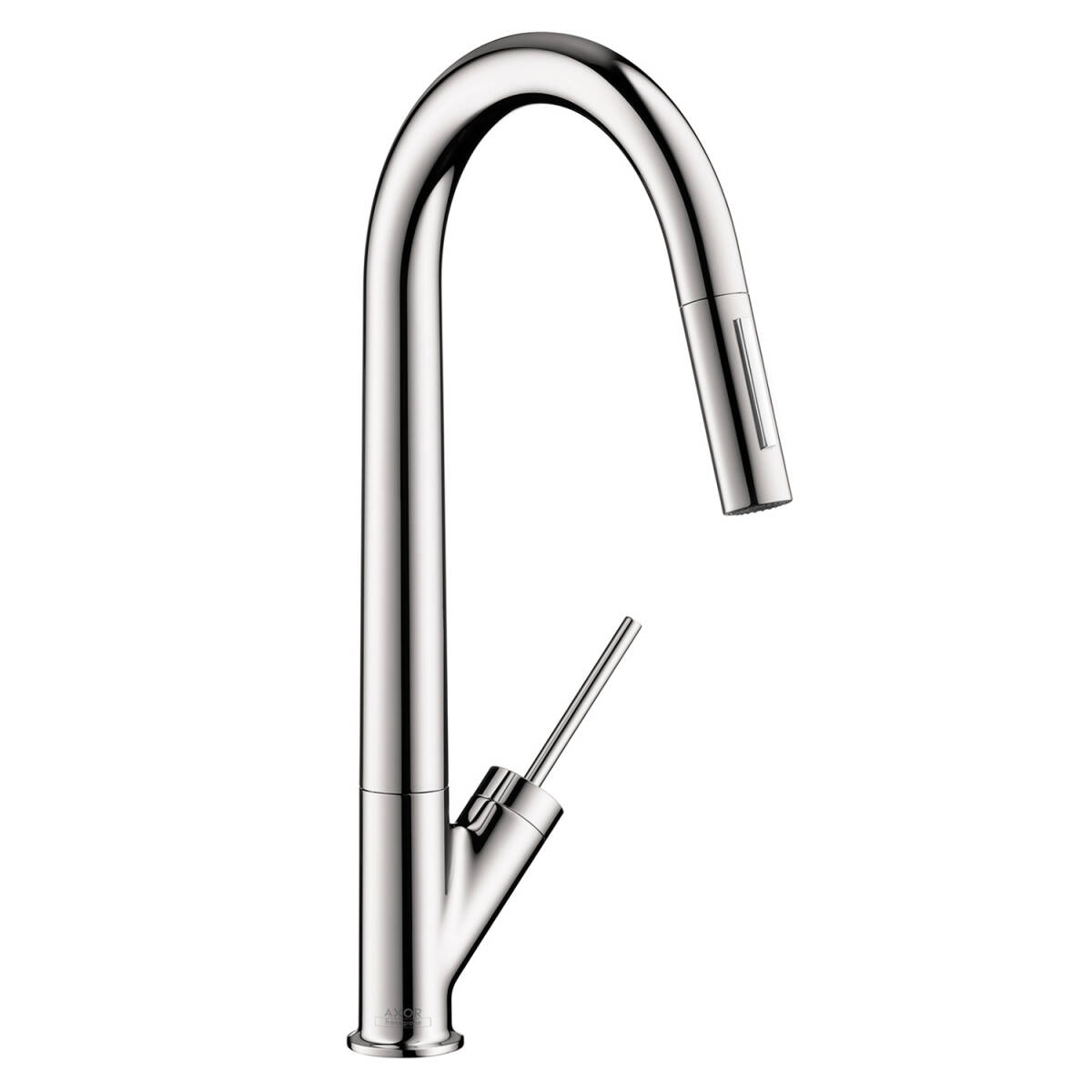 Single lever kitchen mixer 270 with pull-out spray, Chrome, 10821001