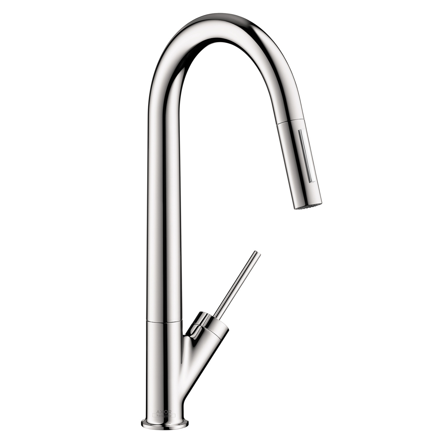 AXOR Starck 2 Spray HighArc Kitchen Faucet, Pull Down, 1.75 GPM, ...