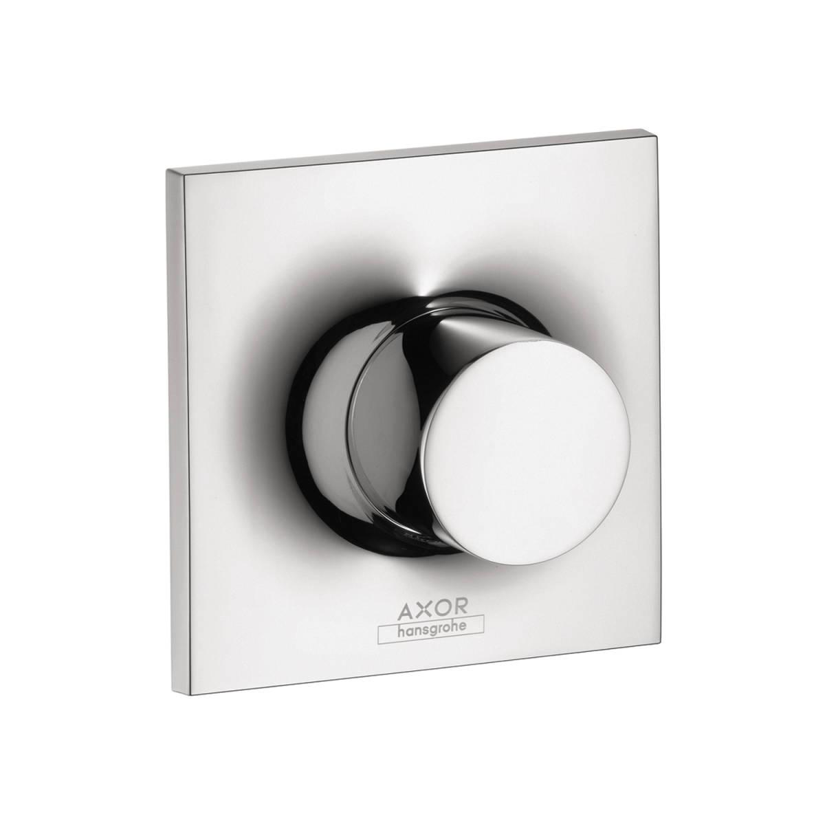 Shut-off valve for concealed installation, Chrome, 18974001