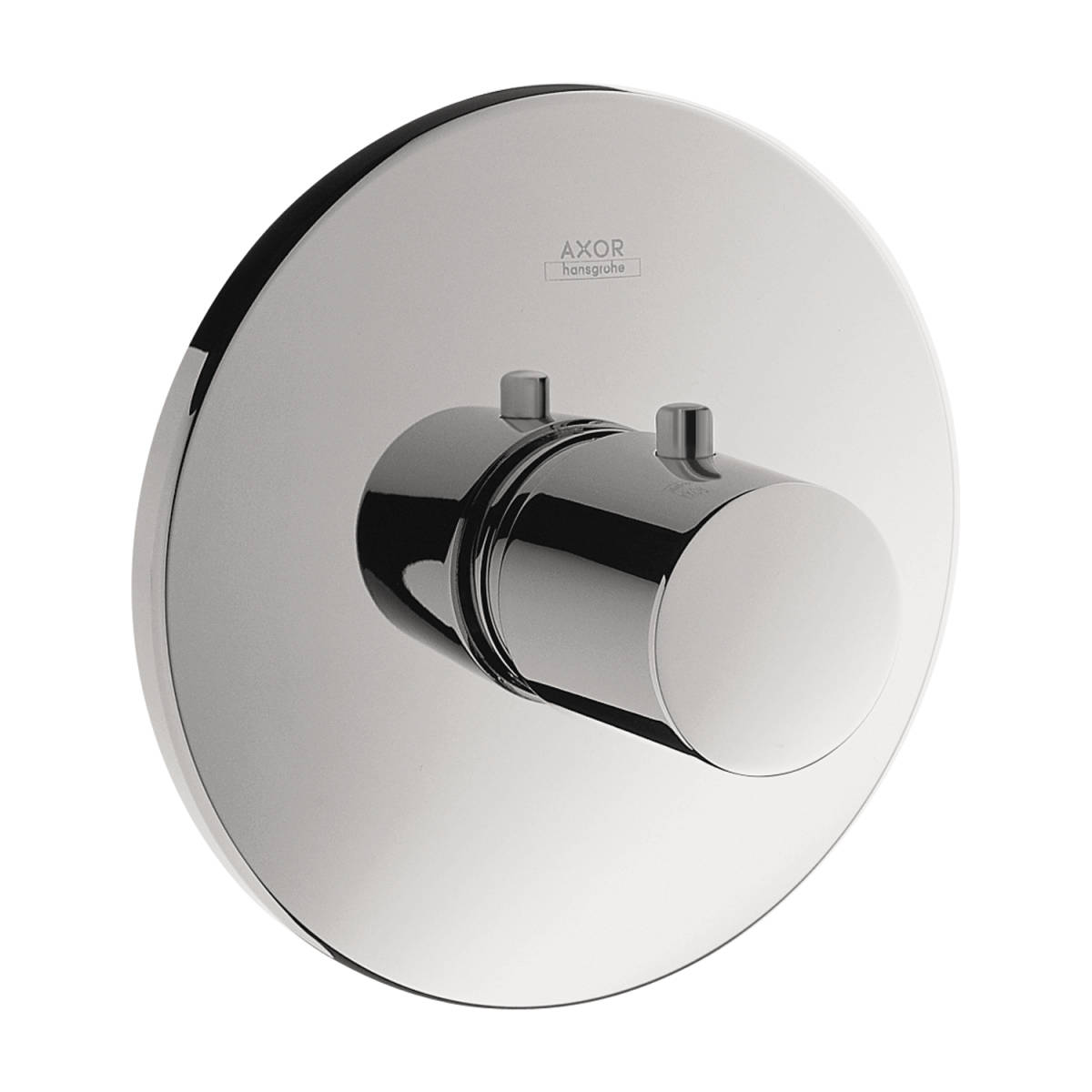 Thermostat HighFlow for concealed installation round, Chrome, 38715001