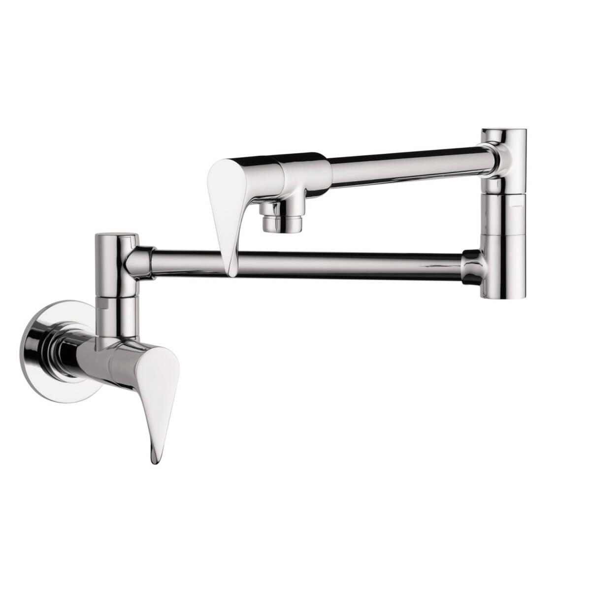 Single lever kitchen mixer wall-mounted, Chrome, 39834001