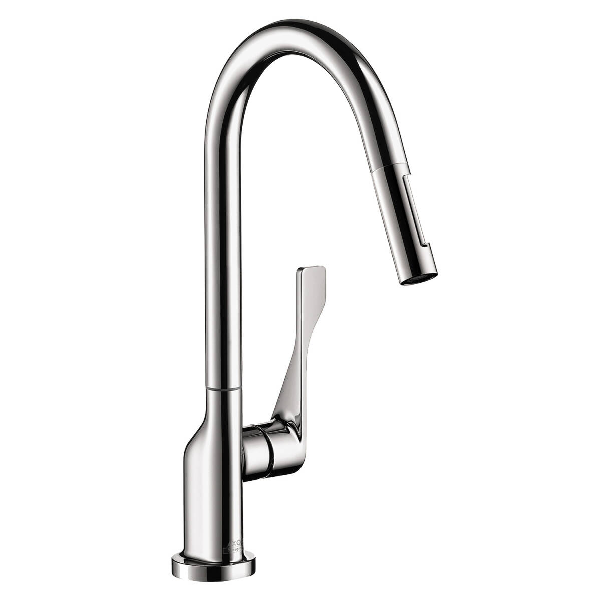 Single lever kitchen mixer 250 with pull-out spray 1.75 GPM, Chrome, 39835001