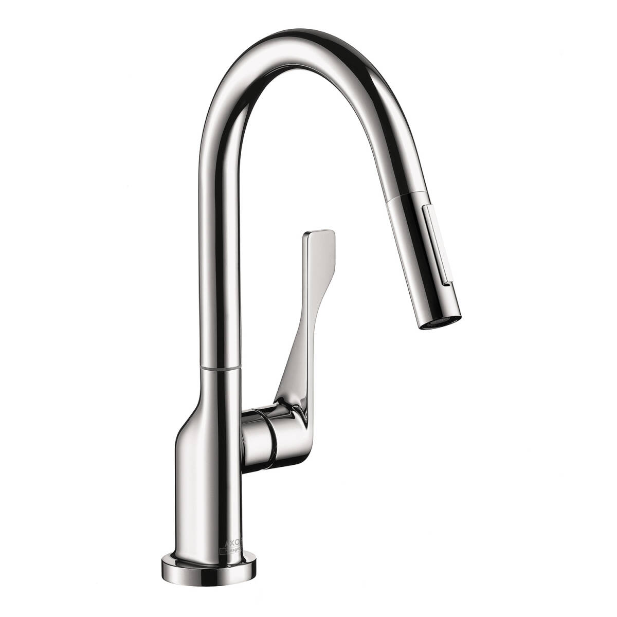 Single lever kitchen mixer with pull-out spray 1.75 GPM, Chrome, 39836001